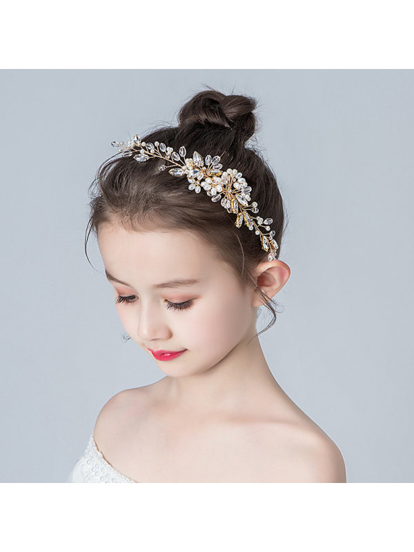 Girls Sweet Flower Girl Hairpin Hair Accessories