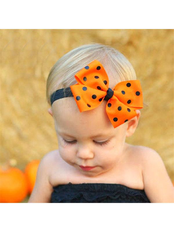 Girl Halloween Bowknot Headband