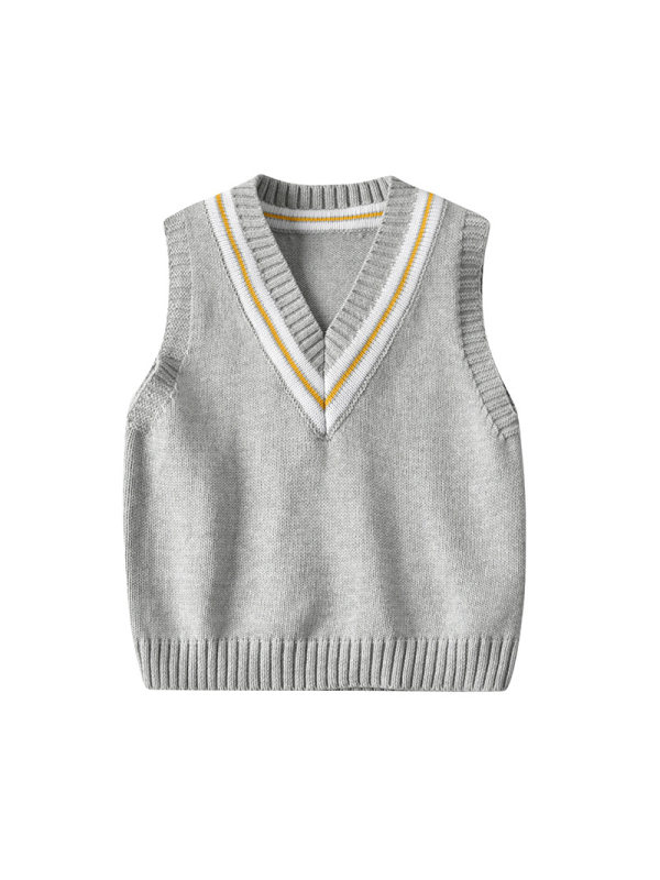 【12M-5Y】Boy Preppy Style Sweater Vest