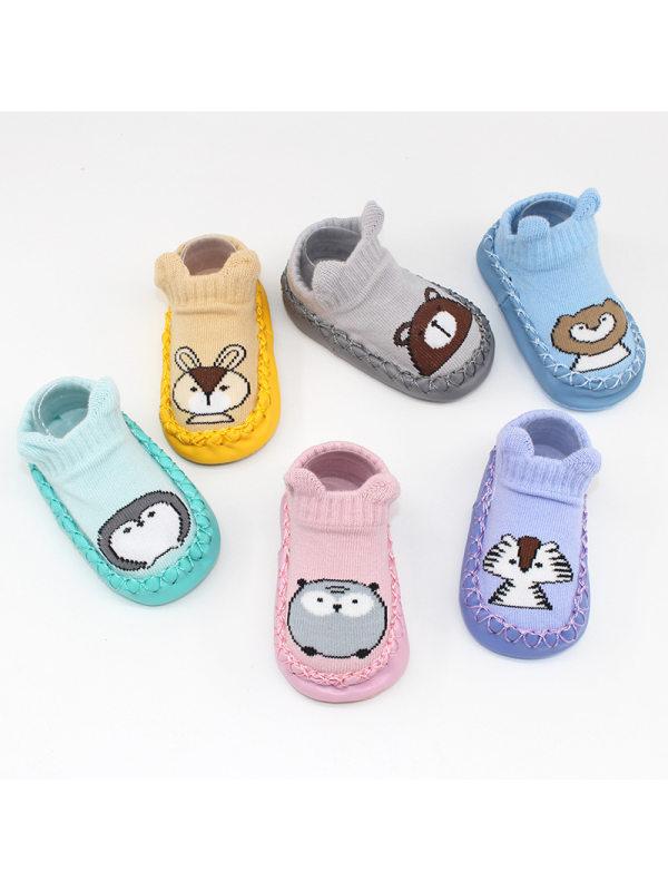 Soft Rubber Sole Baby Footwear Socks