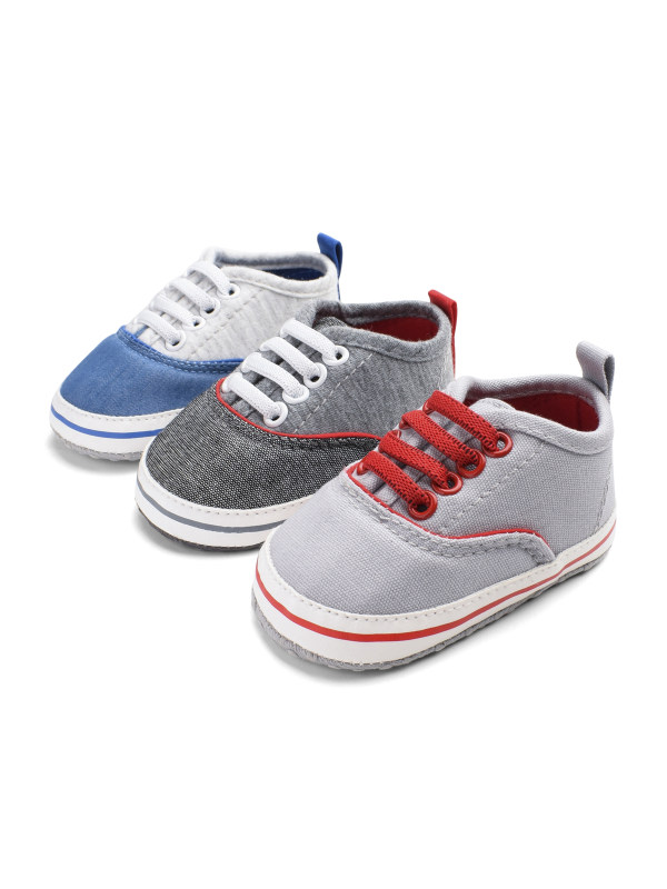 Baby Color Matching Casual Canvas Shoes