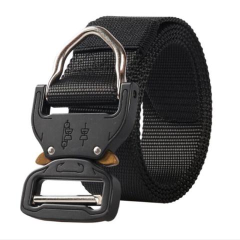Men's canvas wear-resistant tactical belt