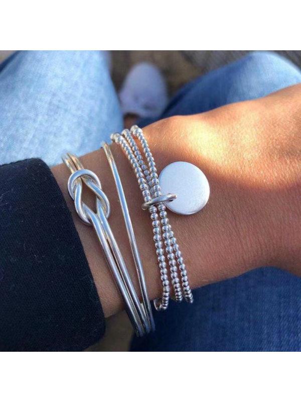 Simple personality multi-layer bracelet