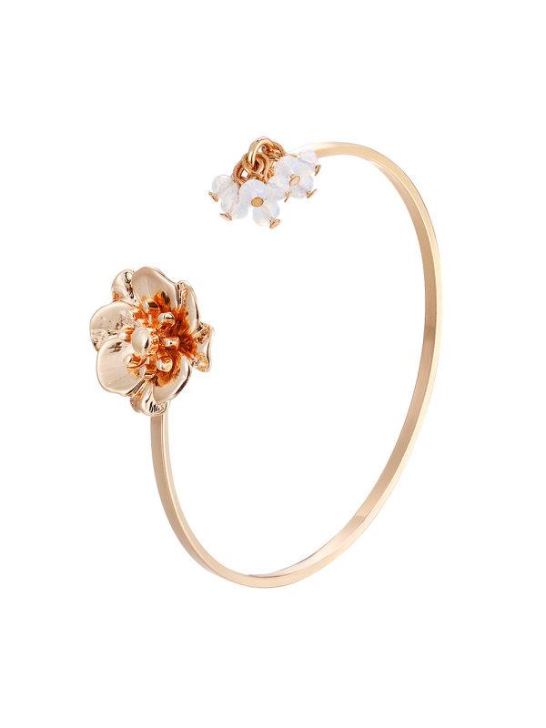 Petal Bracelet Bracelet Hot Sale Simple Alloy Bracelet