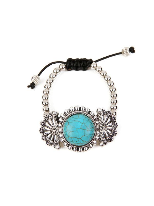 New Vintage Kao Adjustable Bracelet Turquoise Bracelet