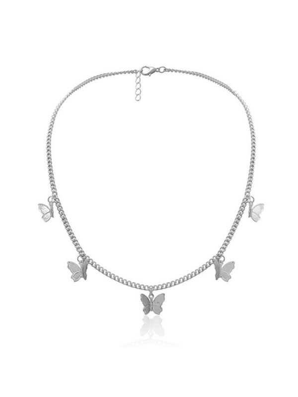 Clavicle Chain Simple and Fashionable Butterfly Pendant Neck