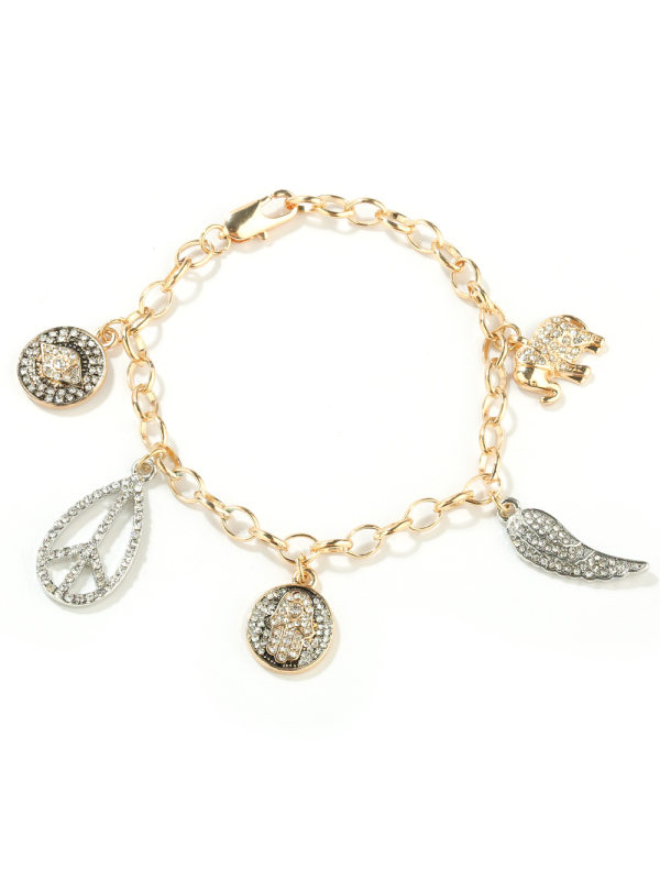 New womens fashion jewelry cute fashion little elephant dia