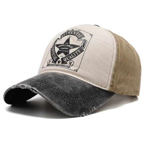 Men's outdoor leisure retro sports cap