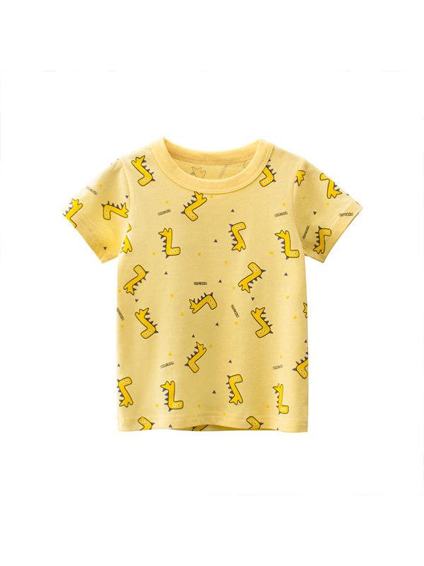 【18M-9Y】Boys Short Sleeve T-shirt