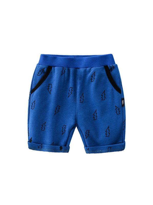 【2Y-13Y】Boys Cartoon Print Trendy Pants