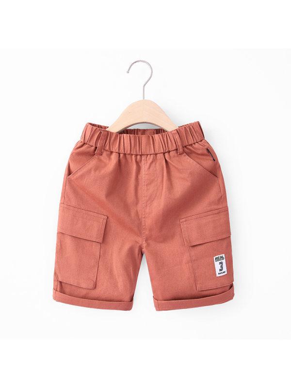 【3Y-11Y】Boys Workwear Trend Shorts