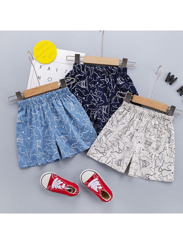 【12M-4Y】Boys Animal Printed Casual Shorts