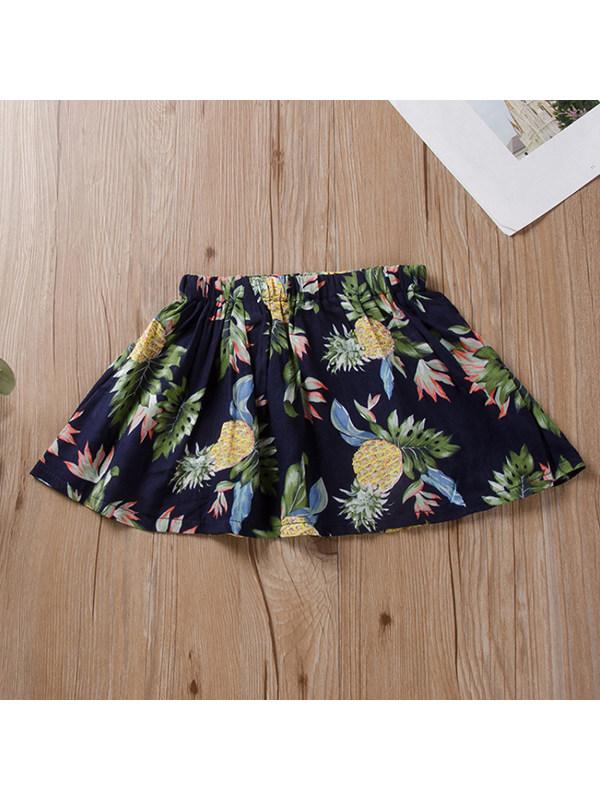 【12M-5Y】Girls Fashion Flower Skirt