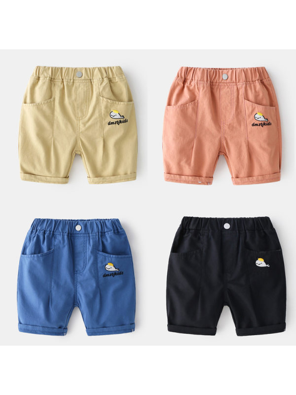 【18M-7Y】Boys Cartoon Print Trendy Shorts