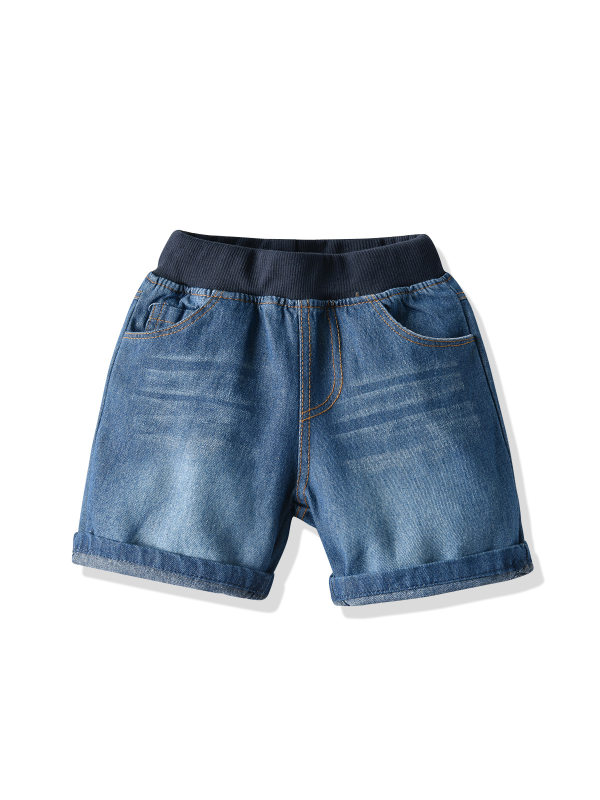 【12M-9Y】Boys Trendy Denim Shorts