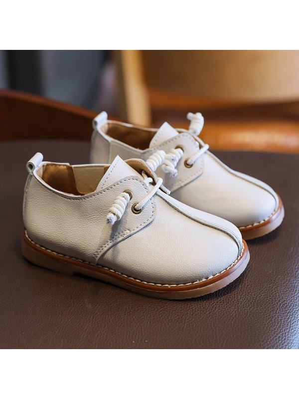 Girls Fashion Small Leather Shoes
