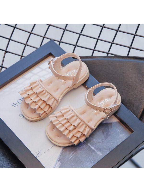 Girls Fashion Open Toe Princess Sandals