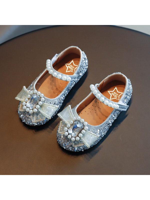 Girls Water Diamond Decorated Fashion Sandals