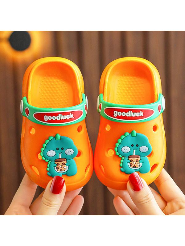 Children's Cute Cartoon Kids Baotou Beach Hole Shoes