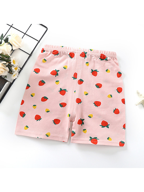 【9M-5Y】Childrens Cotton Casual Shorts