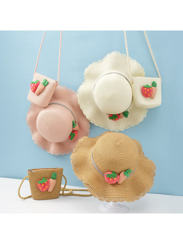 Sweet Fruit Hat and Bag Set
