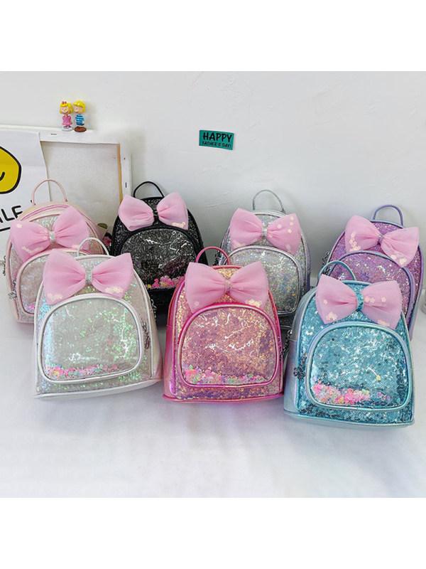 Girls Fashion Bow Backpack