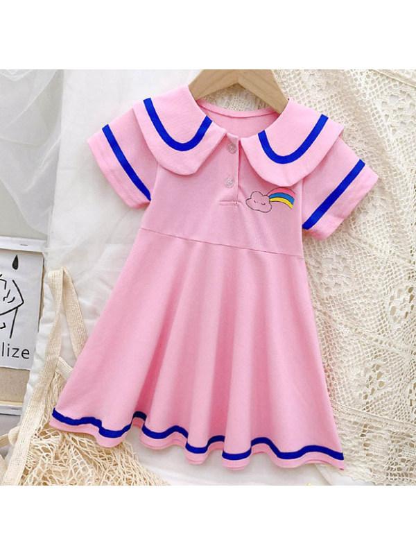 【12M-9Y】Cute Cartoon Print Dress