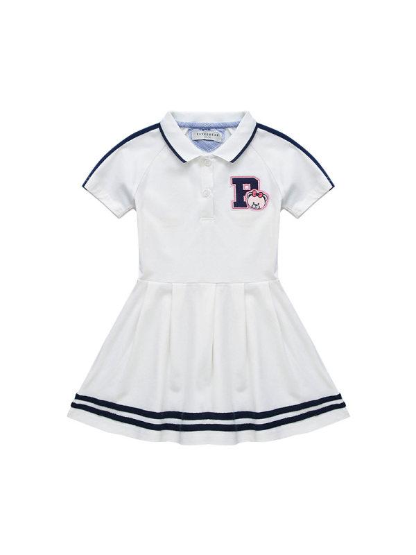 【2Y-11Y】Girls Summer College Style Princess Dress