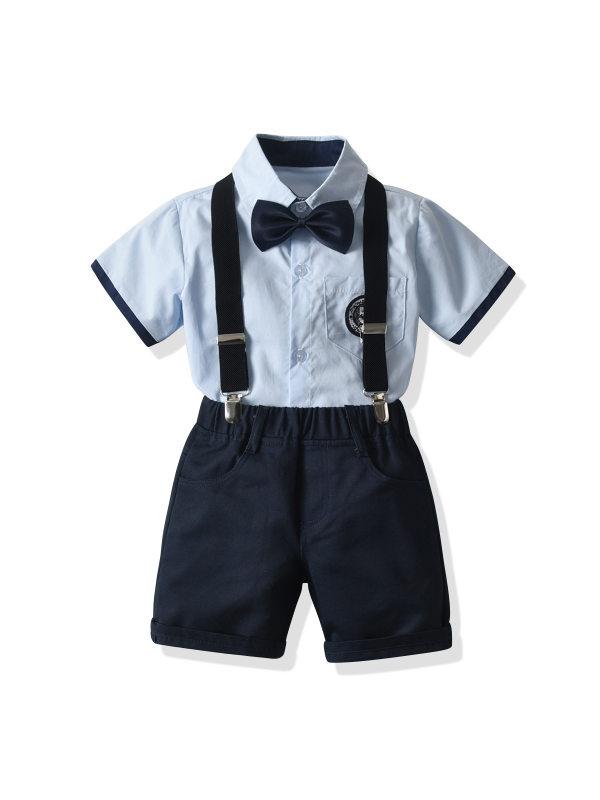 【2Y-9Y】College Style Children's Suit