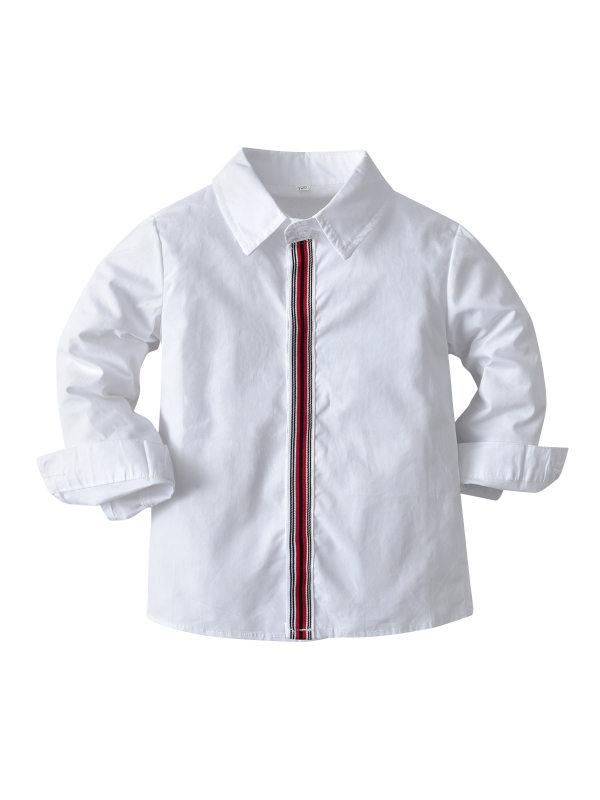 【12M-9Y】Boys Long-sleeved Shirts