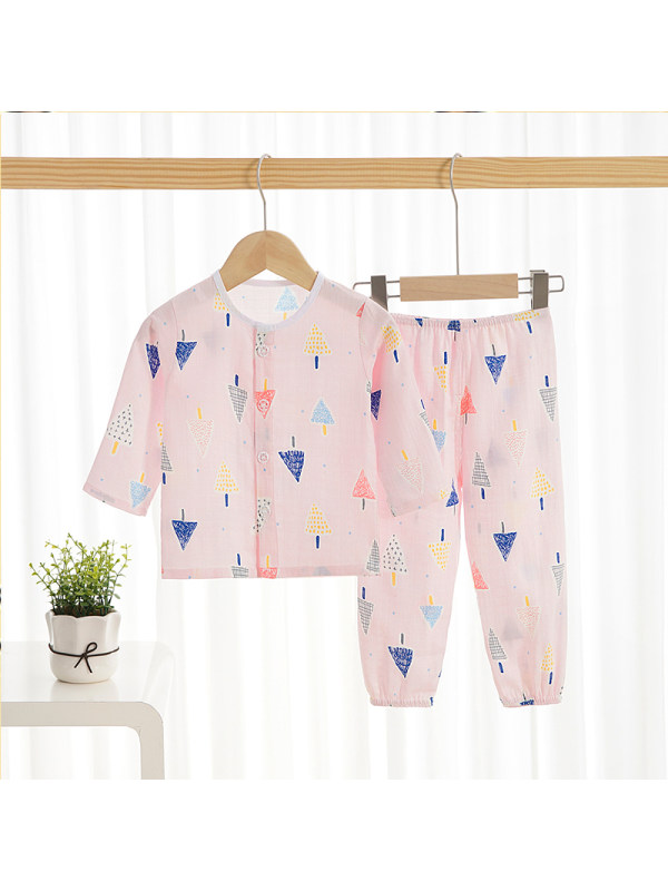 【12M-9Y】Girls Cartoon Home Service Suit