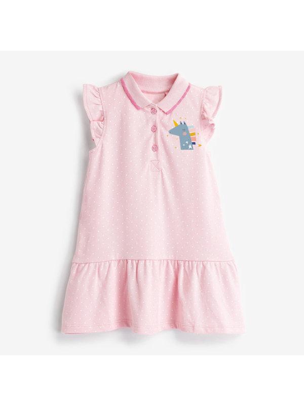 【18M-9Y】Girls Cartoon Print Sleeveless Dress