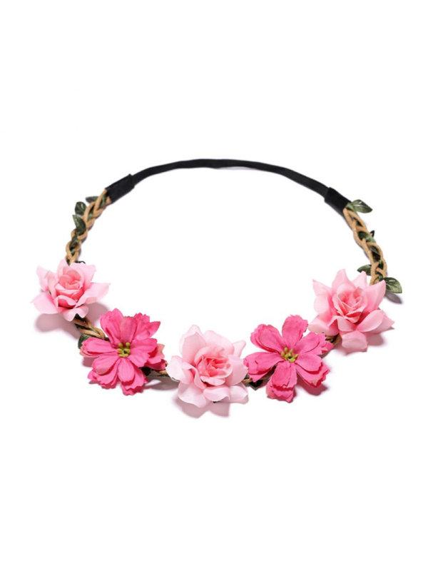 Girls' Little Gesang Flower Rose Headband