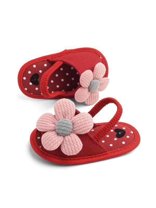 Sunflower Baby Sandals
