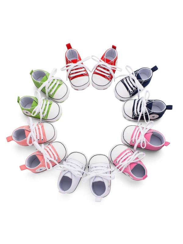Multicolor Baby Canvas Shoes