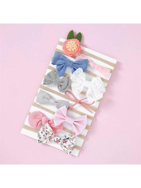 Children's Hair Tie 10-piece Set