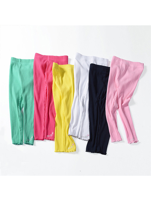 【18M-9Y】Girls Kids Casual Trousers