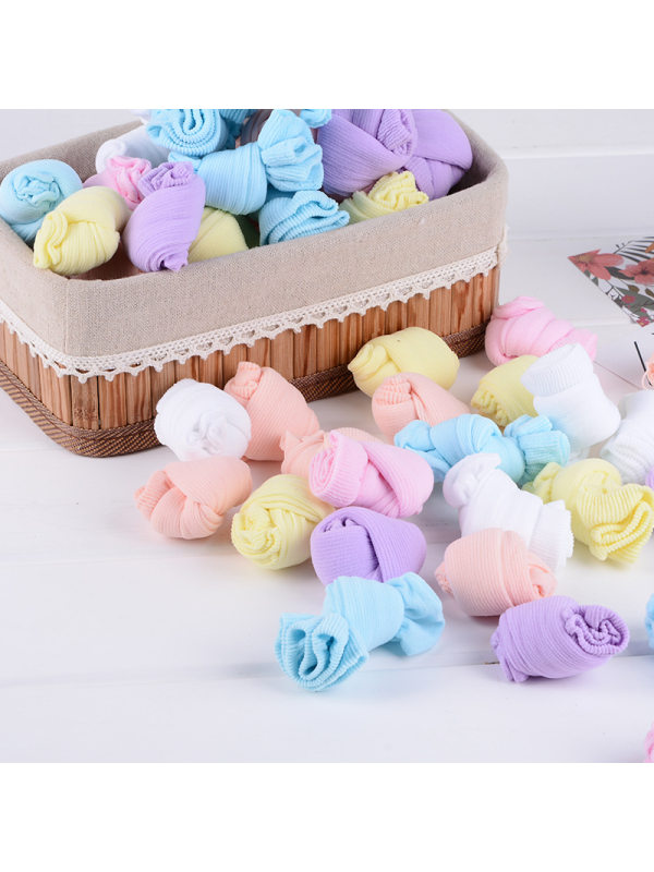 Candy Color Baby Socks