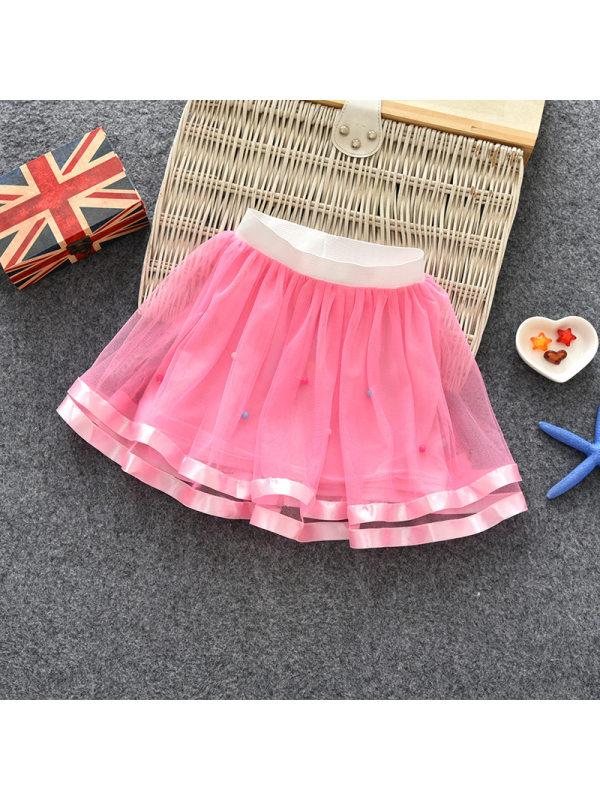 【18M-11Y】Girls Net Gauze Tutu Skirt