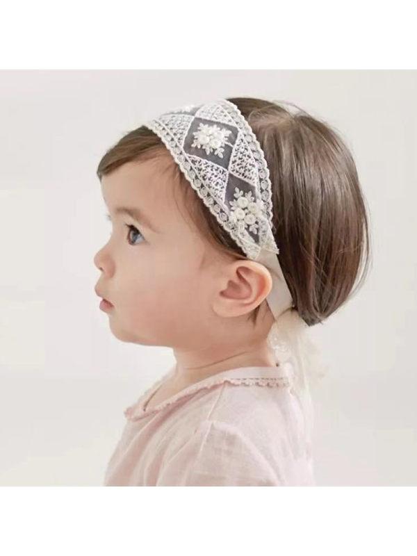 Girls Lace Princess Hairband