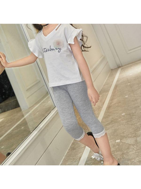 【3Y-13Y】Big Girl Modal Leggings