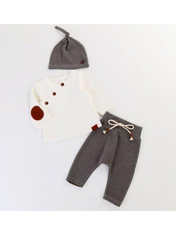 【6M-3Y】Infants Three-piece Set