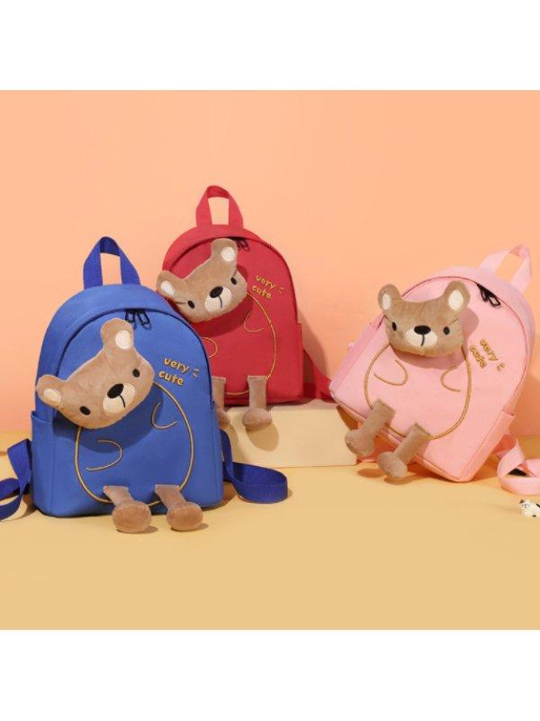 Cartoon Bear Backpack