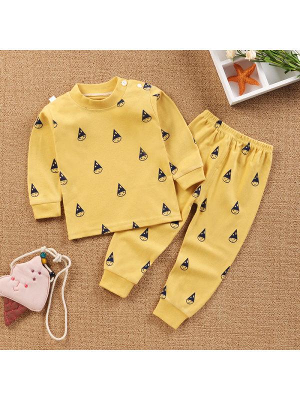 【6M-9Y】Kids Two-piece Cotton Home Suit