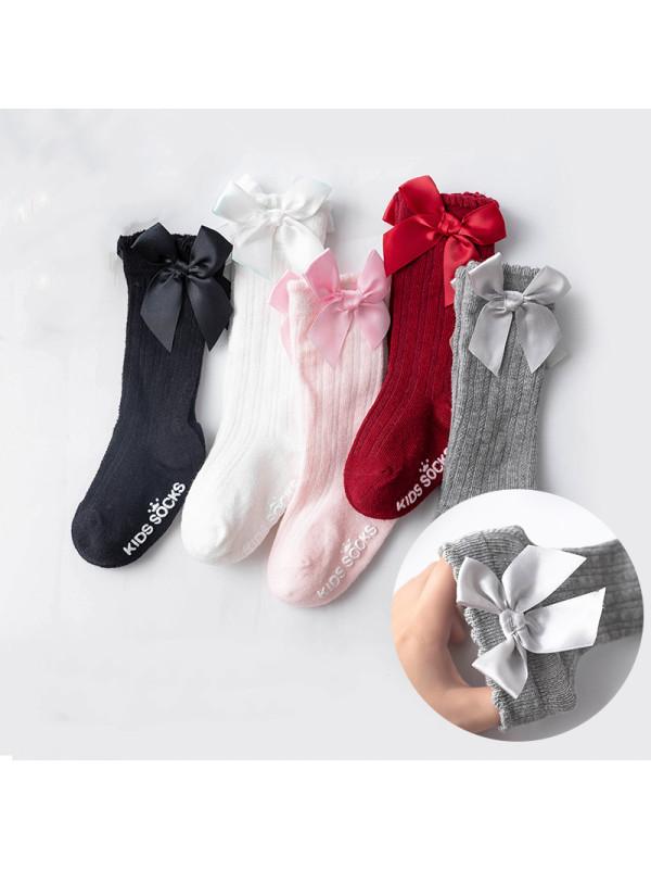Dispensing Non-slip Bow Socks