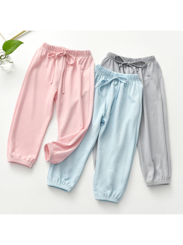 【3Y-13Y】Girls' Casual Anti-mosquito Trousers