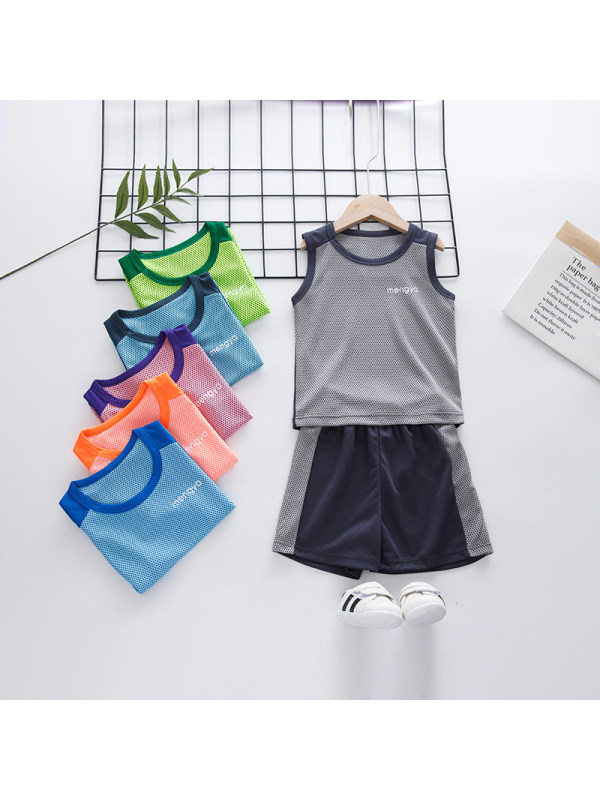 【2Y-13Y】Boys Thin Casual Sportswear Quick-drying Suit