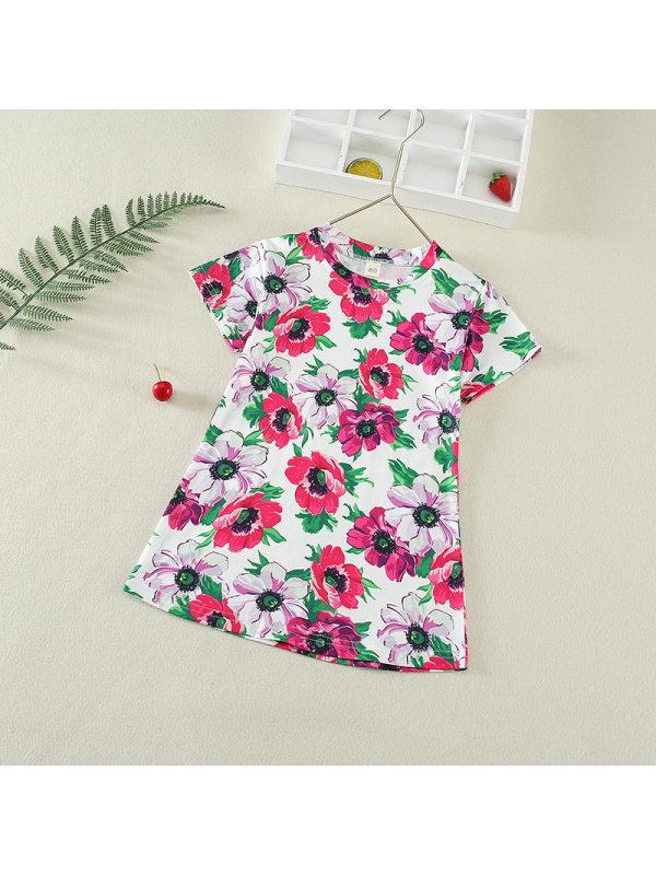 【12M-13Y】Girls Cute Loose Thin Dress