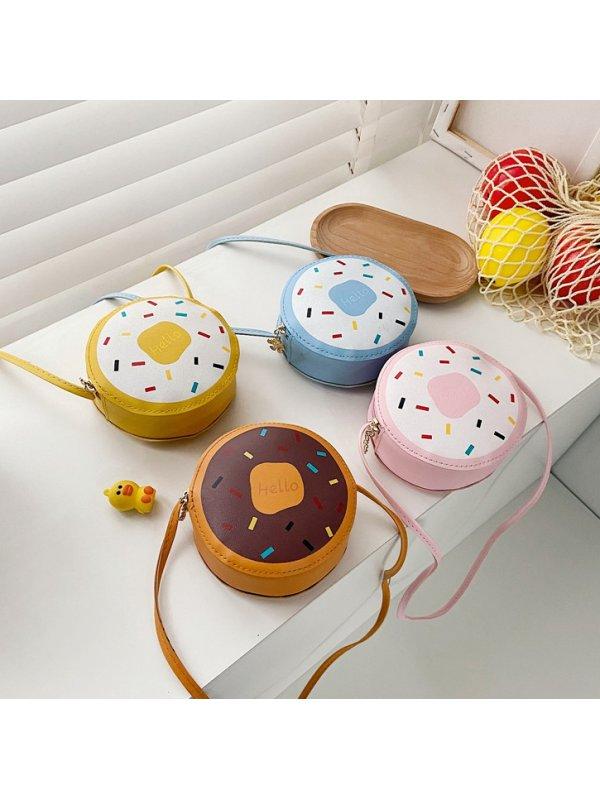 Girls Cute Donut Small Messenger Bag