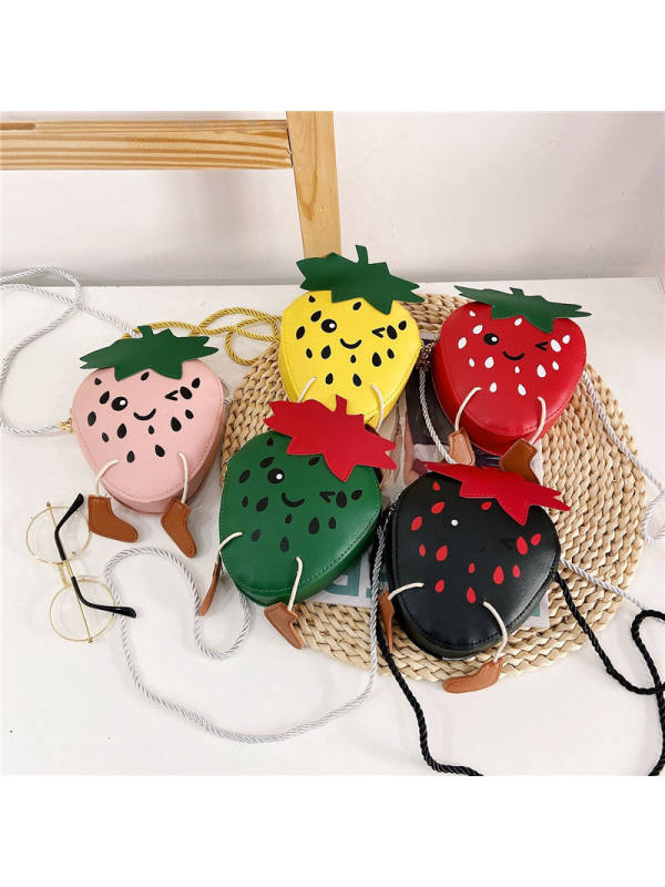 Girls Strawberry Messenger Bag